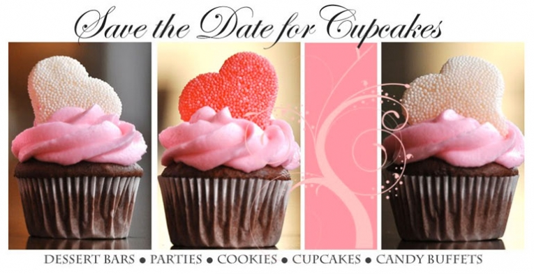 Luminaire Foto featured on Save the Date for Cupcakes Blog