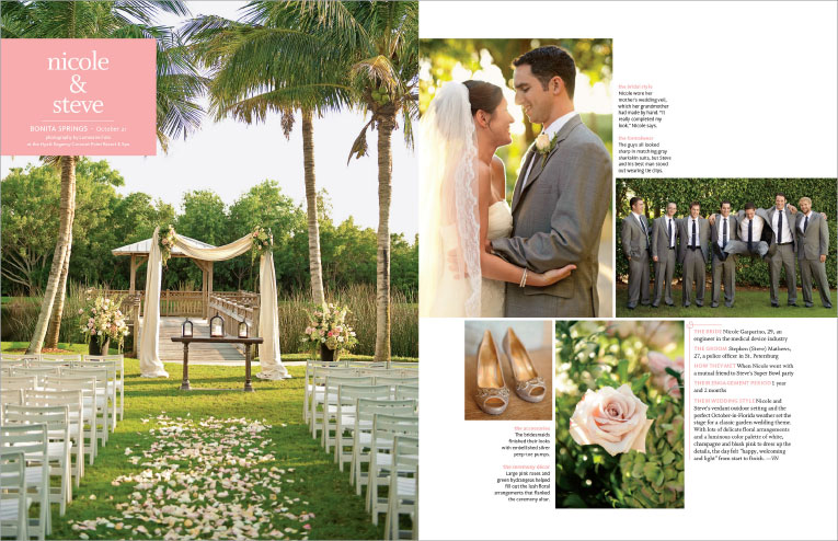Featured Naples Wedding Photographer Hyatt Coconut Point