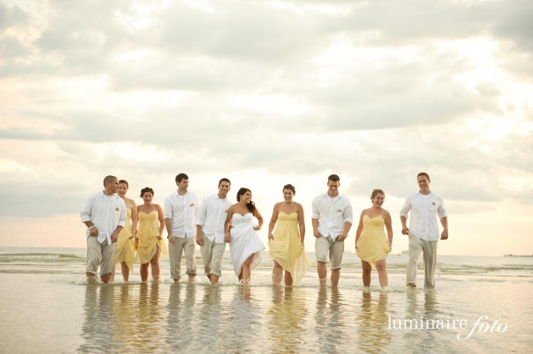 Fort Myers Beach Pink Shell Wedding Photographers