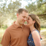 outdoor engagement session in naples florida