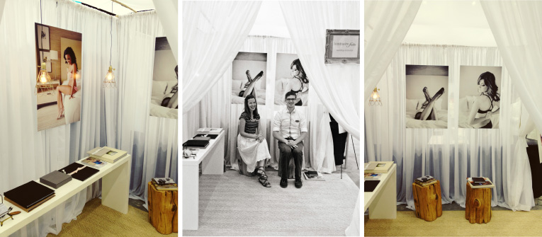 Naples Florida Wedding Photographers Bridal Show Display