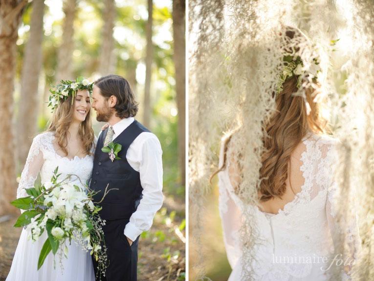 eco chic shoot at the Naples Botanical Garden » Naples Wedding ...